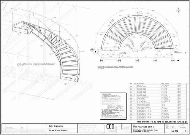 Double staircase floor plans joy studio design gallery Curved staircase design plans